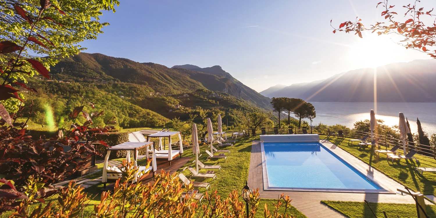 £221 & up – Room with a view: 2 nt-stay high above Lake Garda, 39% off -- Gargnano, Italy