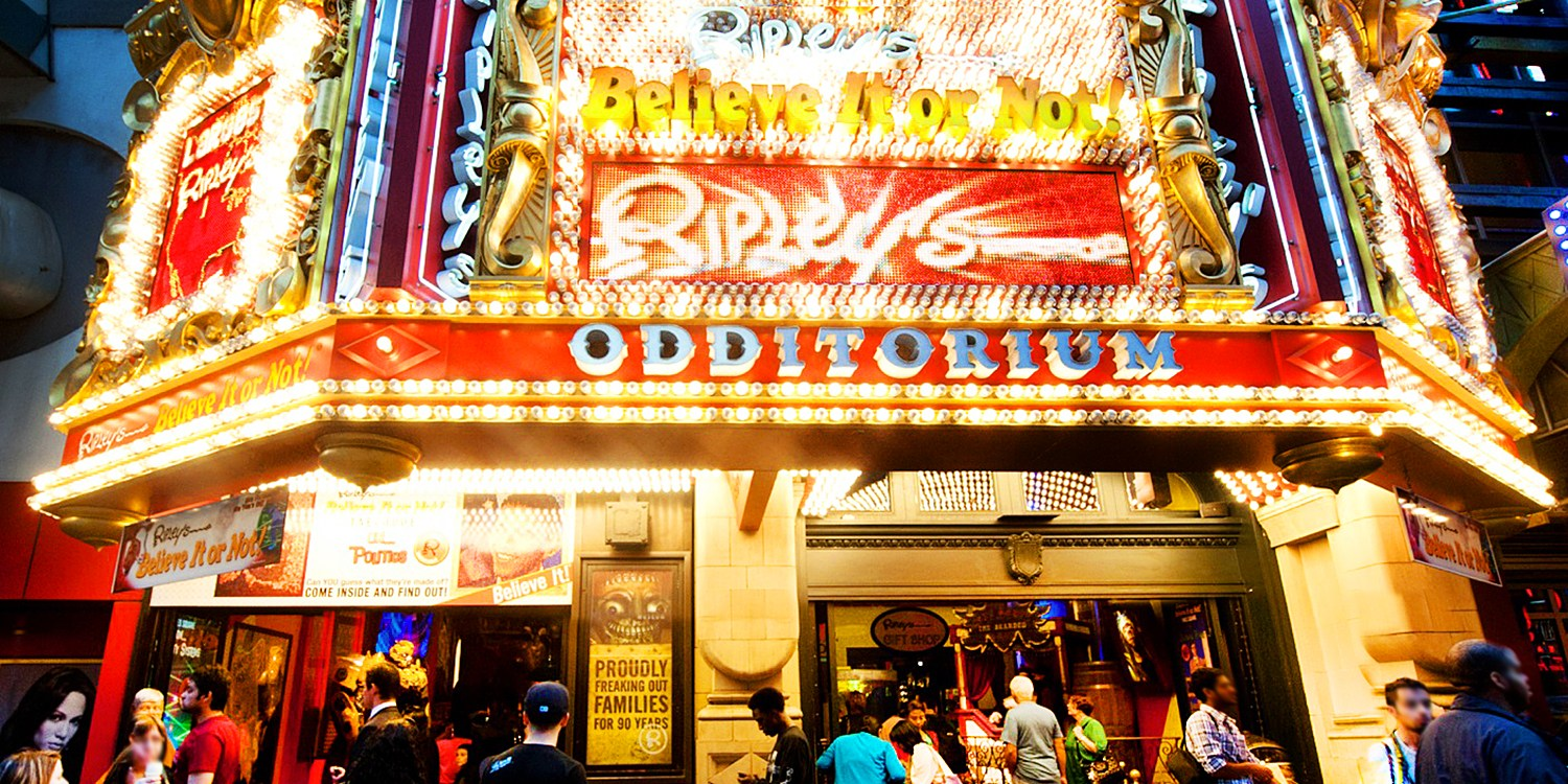 $26 & up -- Ripley's Believe It or Not Times Square
