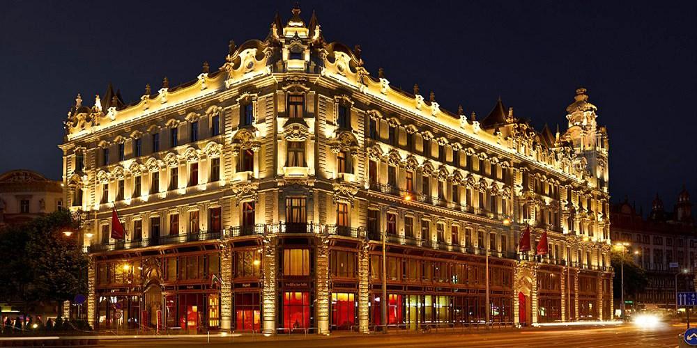 Buddha-Bar Hotel Budapest Klotild Palace -- Budapest, Hungary