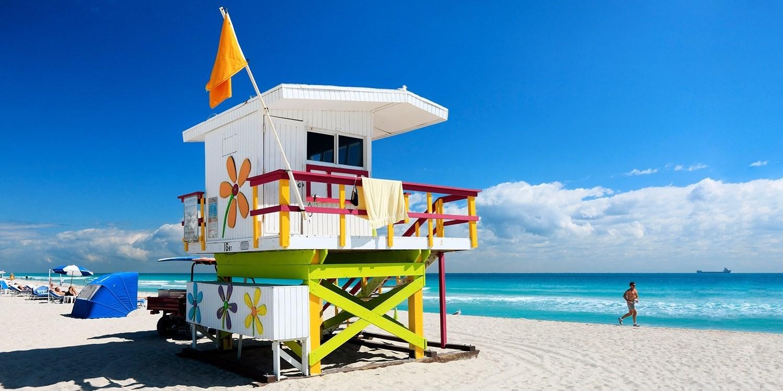 ¥610起 – 5折!迈阿密南滩4星精品酒店 -- 迈阿密海滩, FL, 美国