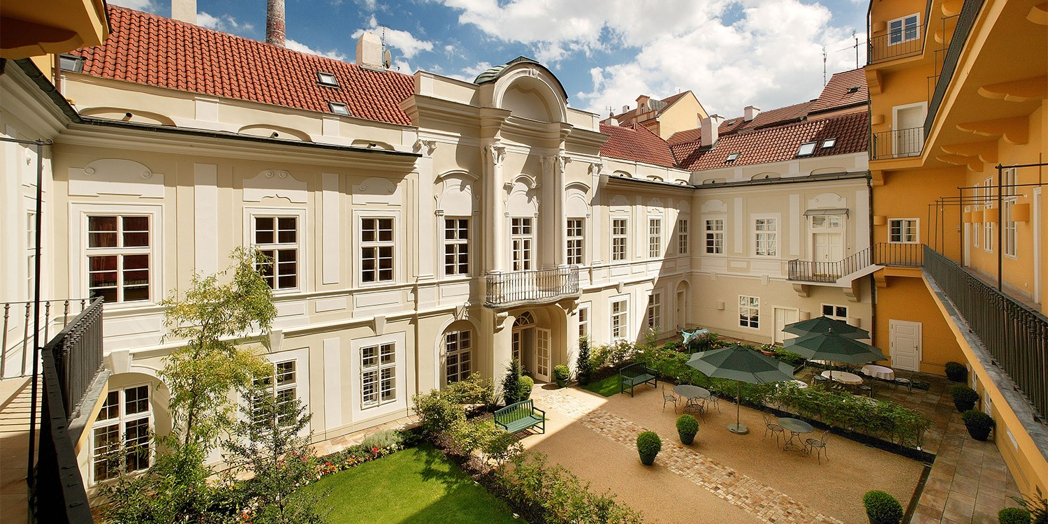 Smetana Hotel (Pachtuv Palace) -- Prague, Czech Republic