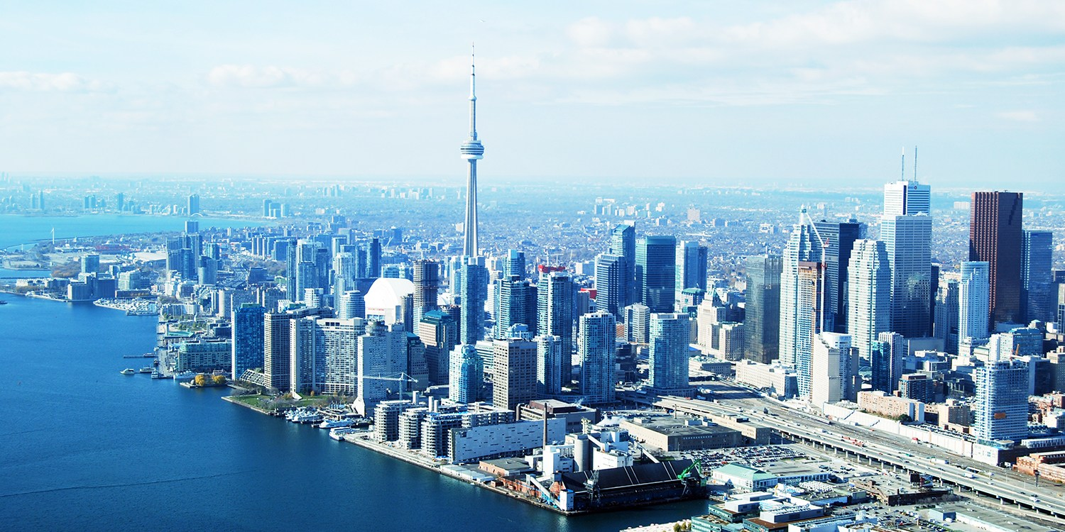 220 Private Flight For Up To 4 Over Toronto Reg 360 Travelzoo Exclusive Voucher Map 100