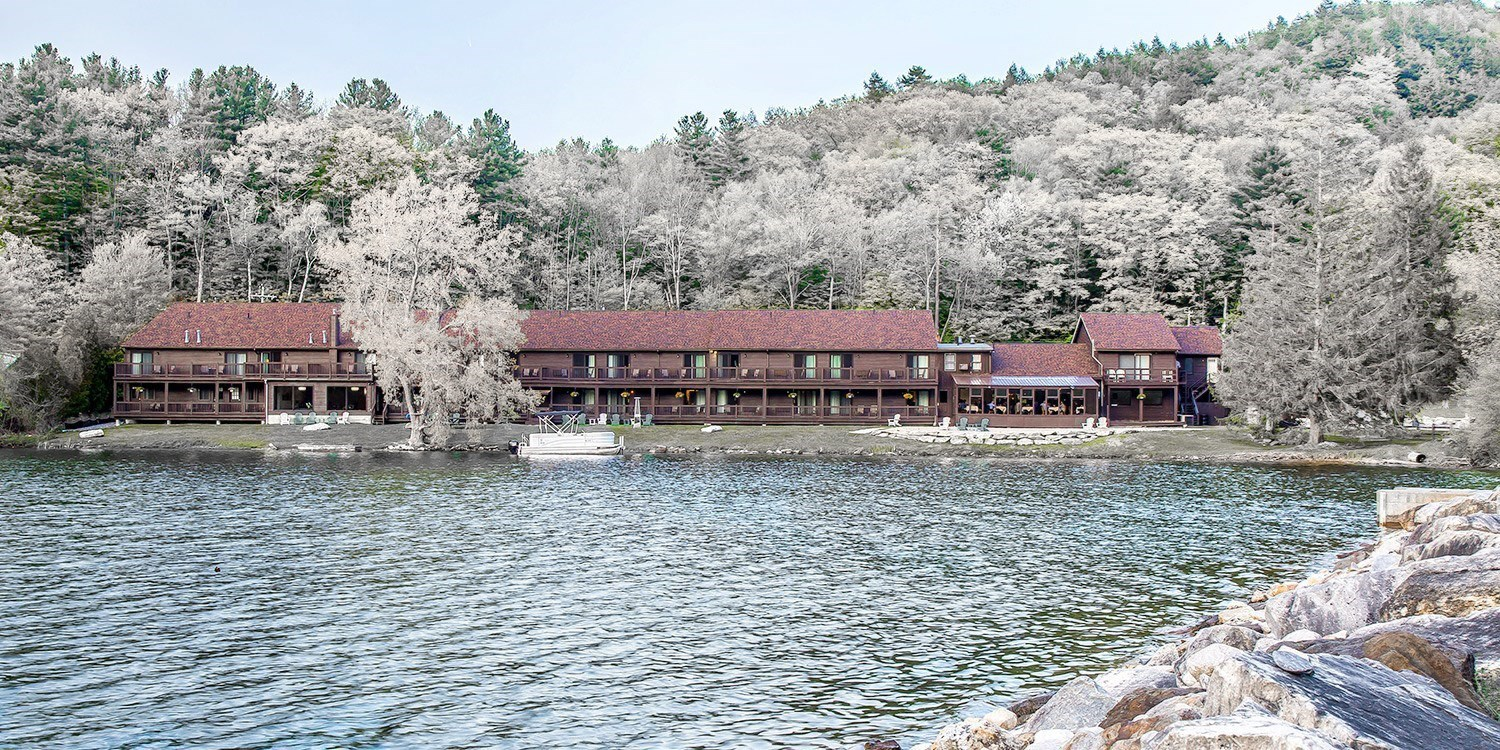 $120-$148 – Berkshires Lakeside Hotel through May, 40% Off -- Lee, MA