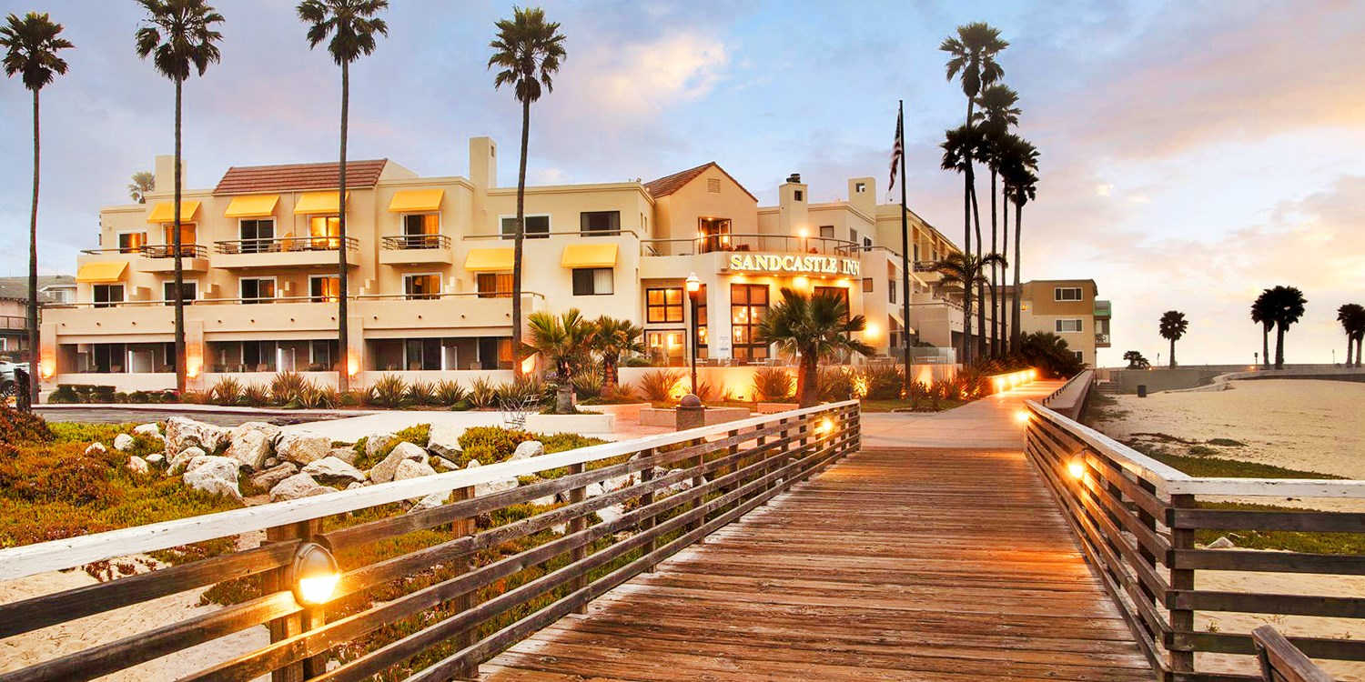 Sandcastle Hotel on the Beach -- Pismo Beach, CA