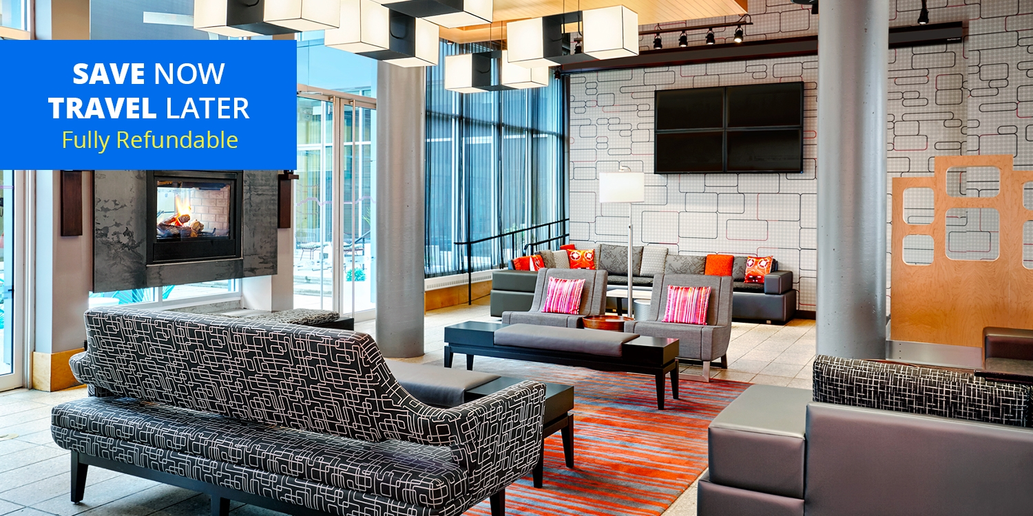 £67 – Montreal Airport Hotel incl. 8 Days' Parking, 55% Off -- Dorval, Montreal
