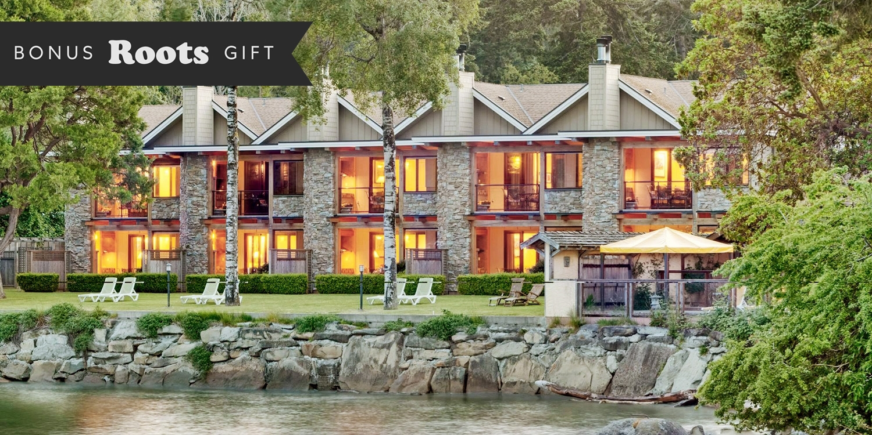 $329 & up – Galiano Island Stay w/Activities & $100 Credit -- Galiano Island, Canada