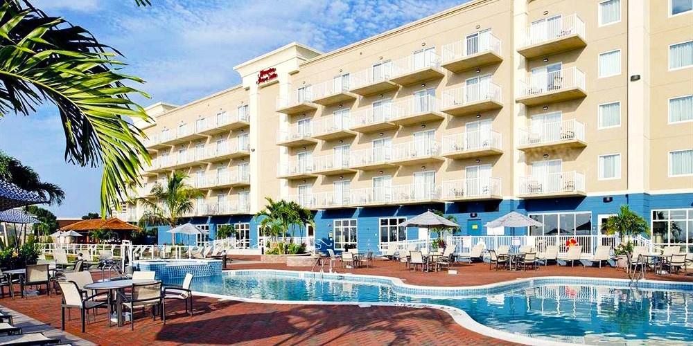 Hampton Inn & Suites Ocean City/Bayfront-Convention Center -- Ocean City, MD
