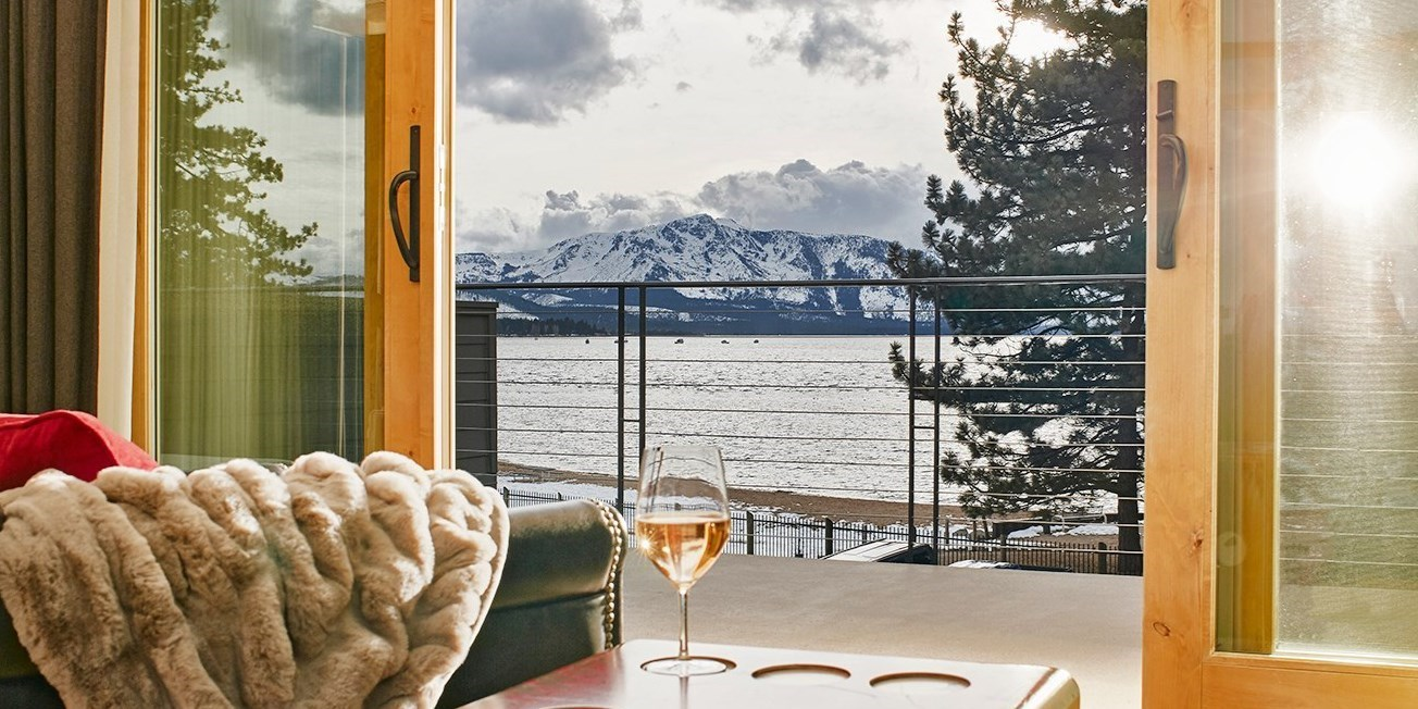 $284 – Lake Tahoe 4.5-Star Hotel incl. Ski Season -- South Lake Tahoe, CA