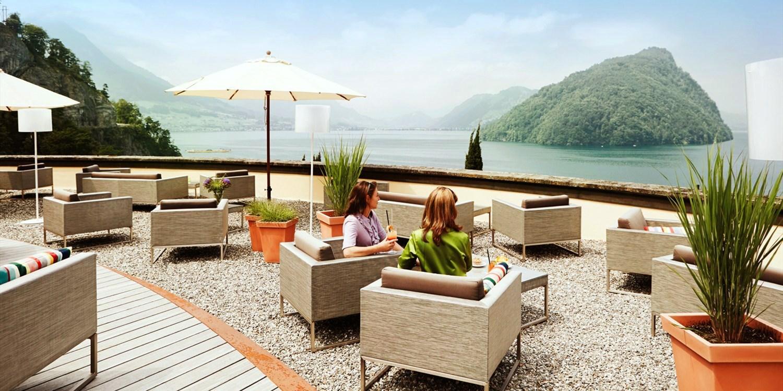 See- und Seminarhotel FloraAlpina -- Vitznau, Schweiz