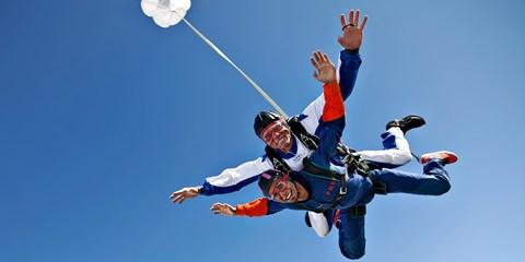 DC: Cross Skydiving Off Your Bucket List, Half Off