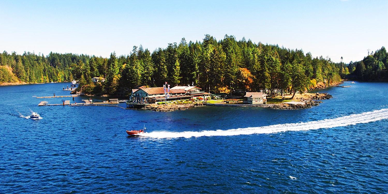 April Point Resort & Spa -- Quadra Island, Canada