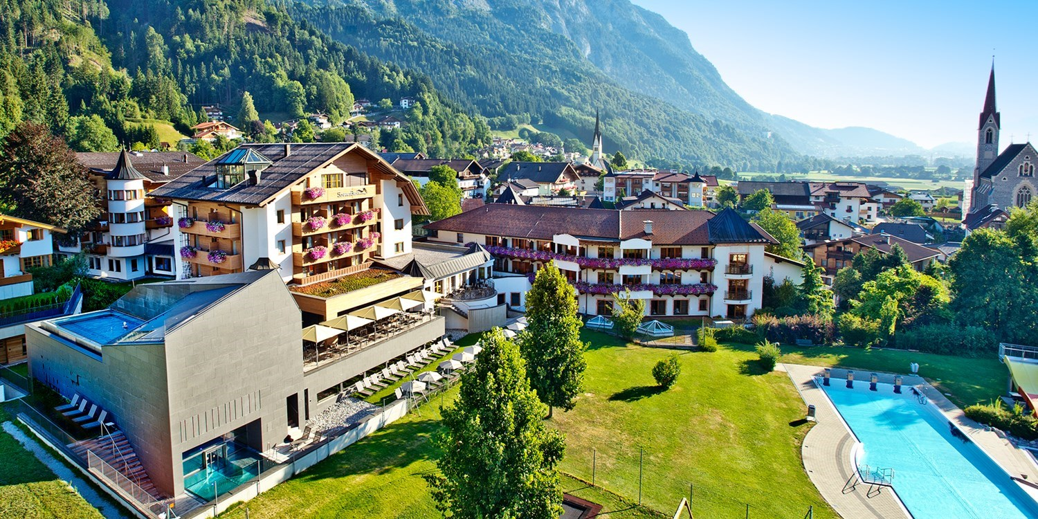 $683 – Tyrol: 3-night spa hotel stay w/meals, save 53% -- Stans, Austria