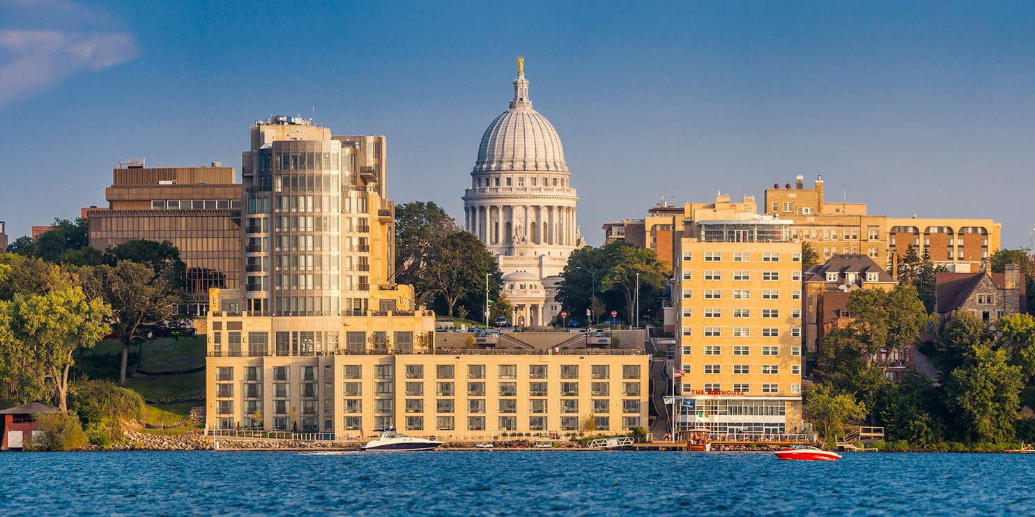 $169 – Top-Rated Madison Hotel w/Parking & Breakfast -- Madison, WI