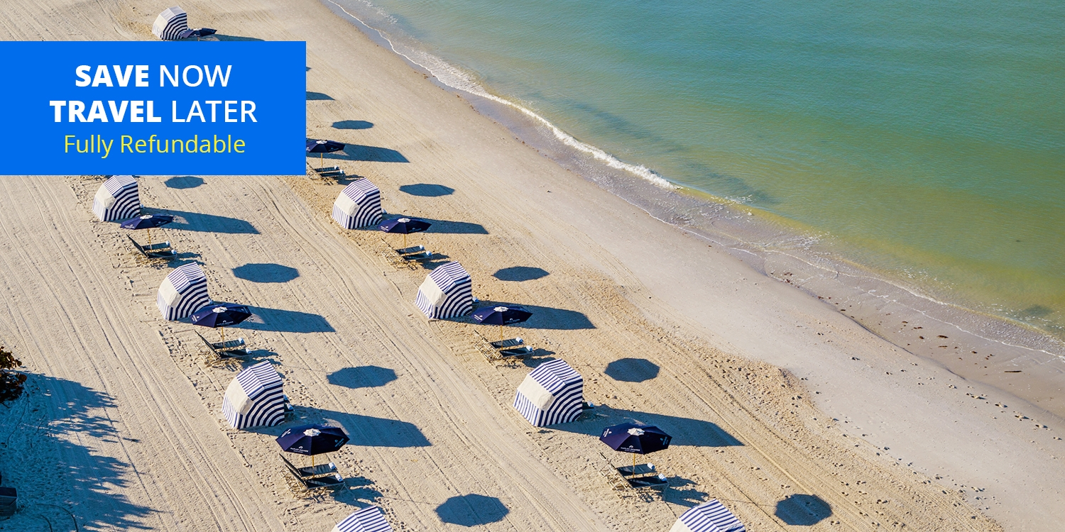$199 & up – Upscale Naples Beach Resort incl. Weekends -- Naples, FL