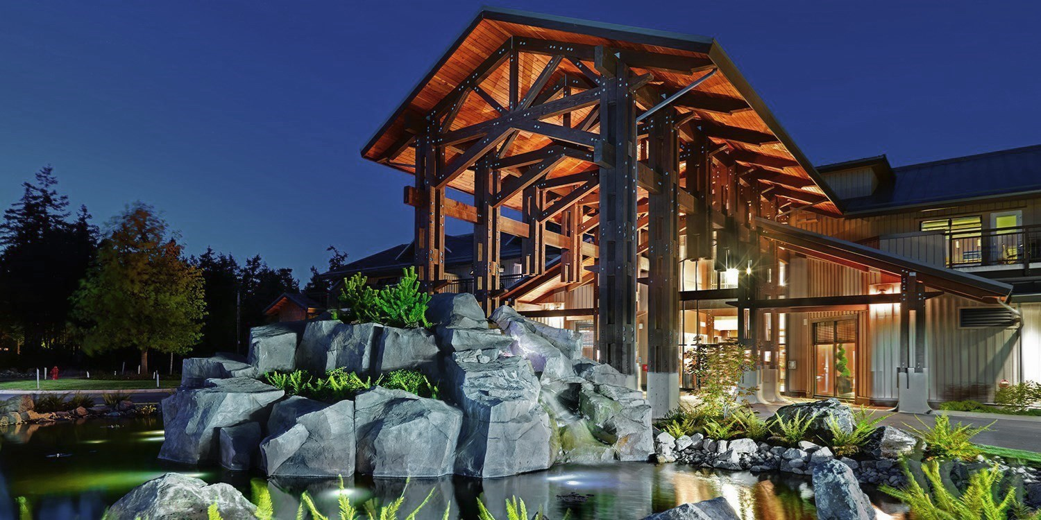 Sunrise Ridge Waterfront Resort -- Vancouver Island