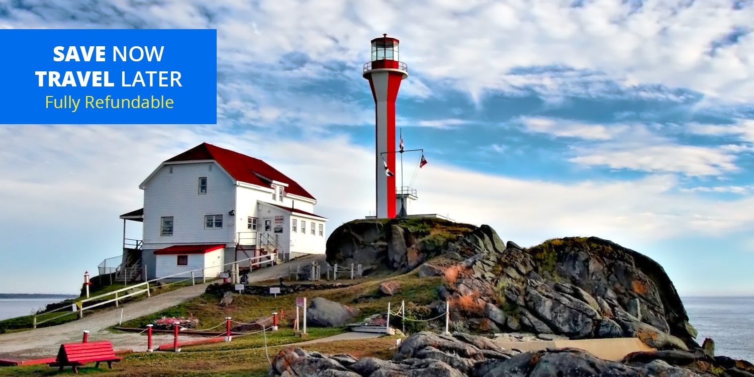 £61 – Stay on Nova Scotia's Bay of Fundy through April, Reg. £99 -- Yarmouth, Canada