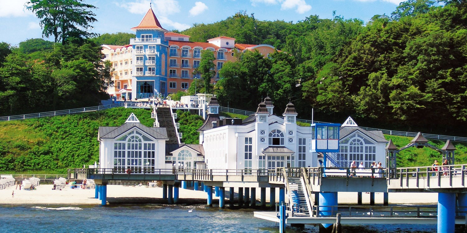 $111 & up – 4-Star German Hotel Stay on the Pier, Save 30% -- Ostseebad Sellin, Germany