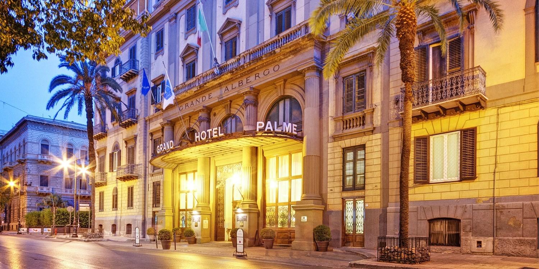 Grand Hotel Et Des Palmes -- Palermo, Italy