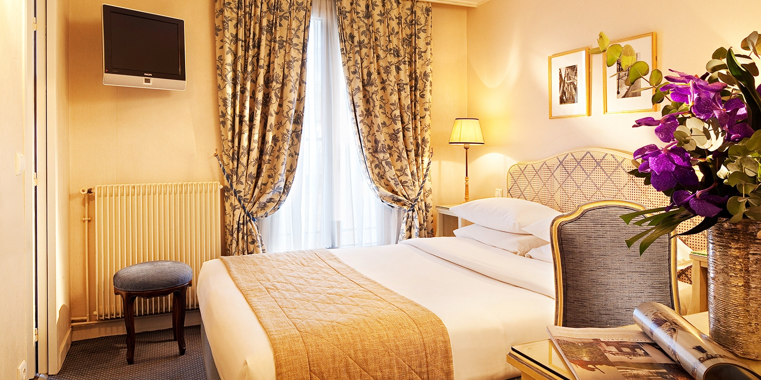 Hotel Belloy Saint Germain -- Jardin du Luxembourg-St-Germain-des-Prés, Paris