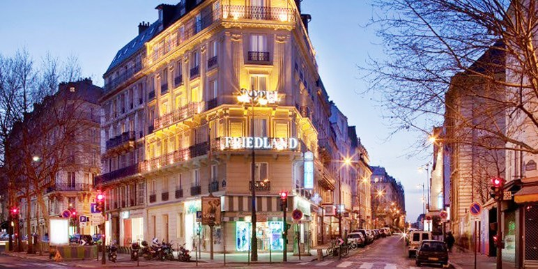 Hôtel Champs Elysees Friedland by Happyculture -- Champs Elysees-Madeleine-Arc de Triomphe, Paris