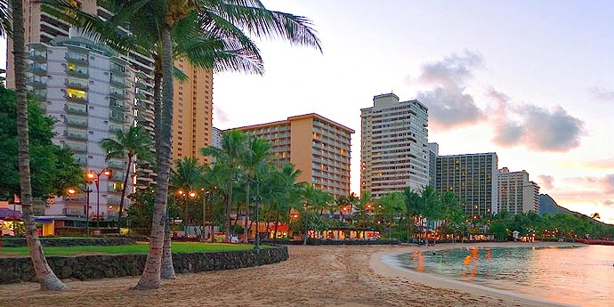 Aston Waikiki Circle Hotel -- Honolulu, HI