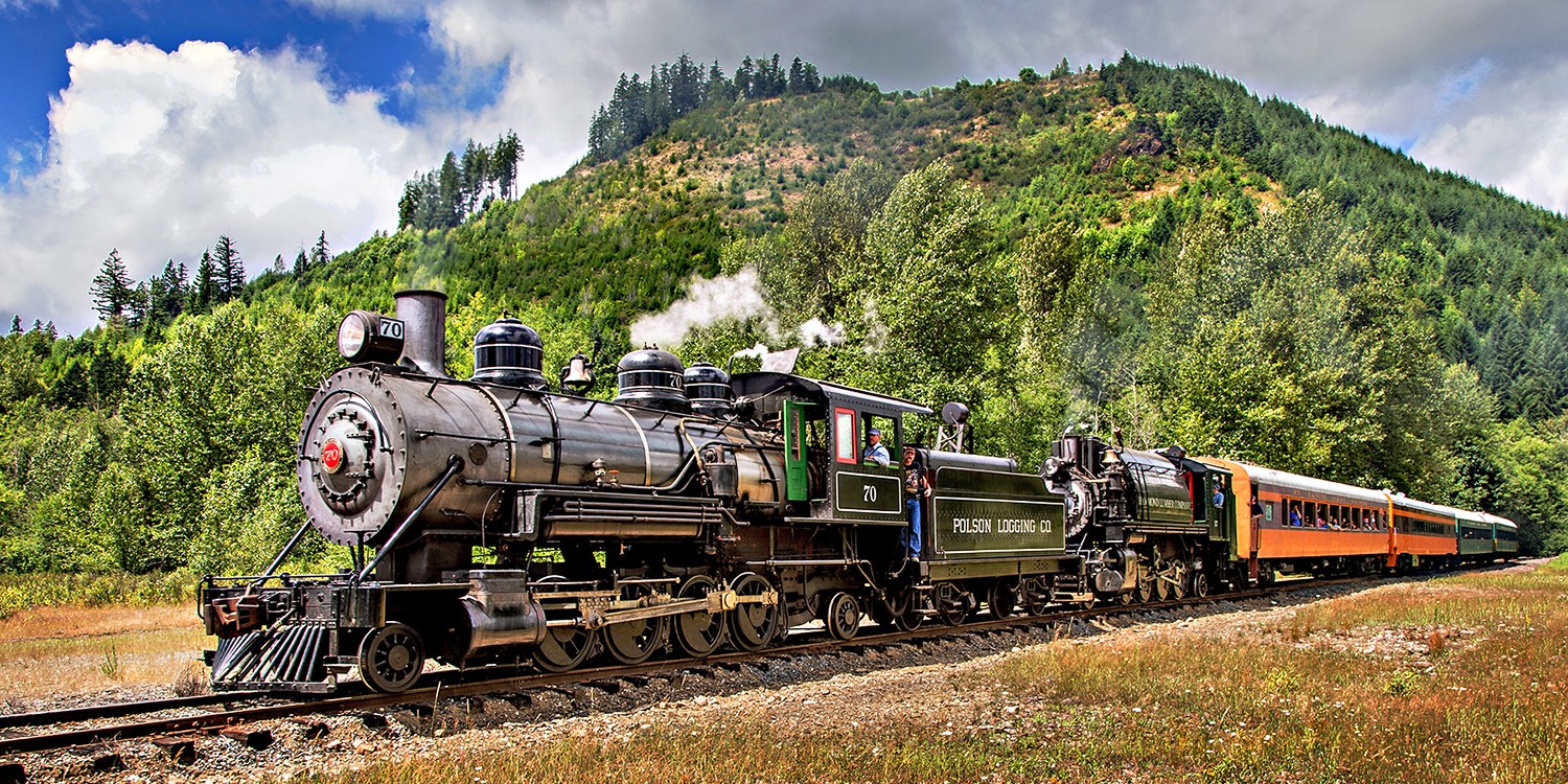 $39 -- 2 Tickets: Mt. Rainier Railroad Ride, 50% Off