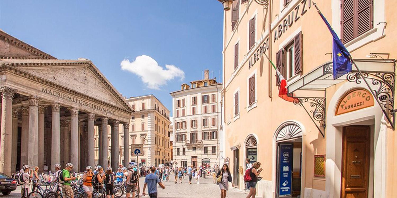 Hotel Abruzzi -- Rome, Italy