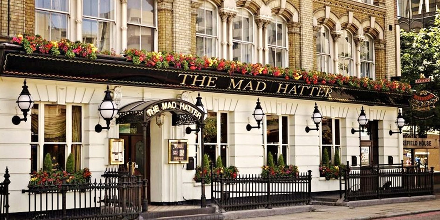 The Mad Hatter Hotel -- South London, United Kingdom