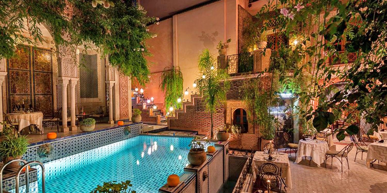 Palais Sebban -- Marrakesh, Morocco