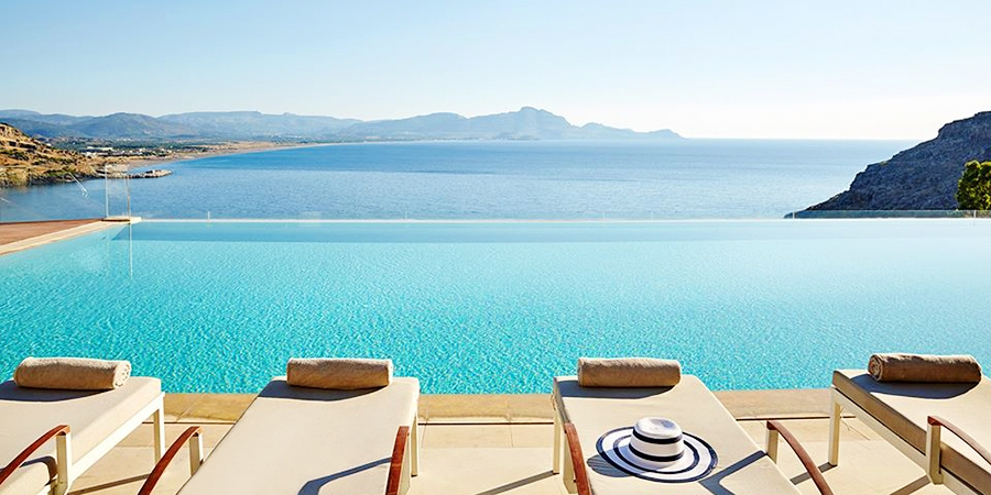 Lindos Blu Luxury Hotel & Suites - Adults Only -- Rhodes Island, Griechenland