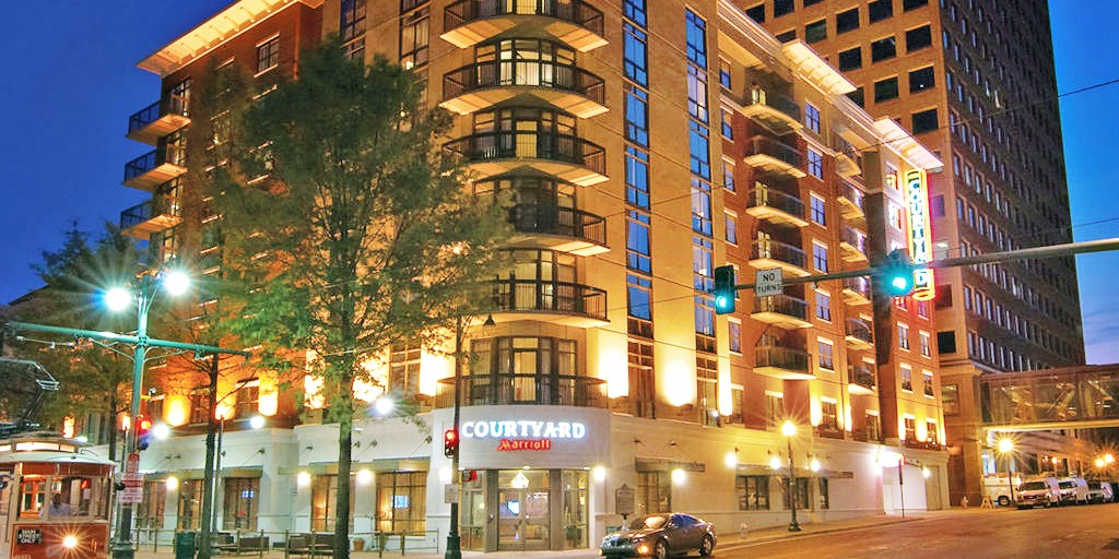Courtyard by Marriott Downtown Memphis -- Memphis, TN