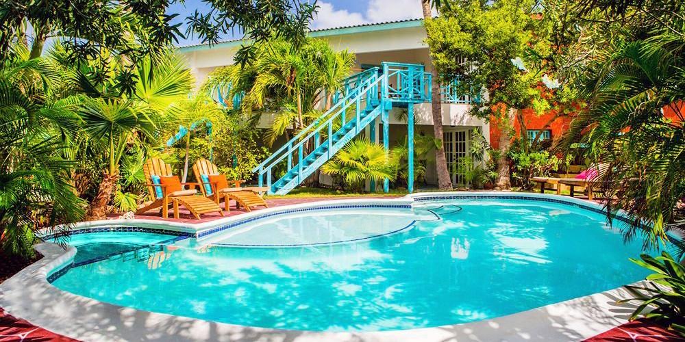 Boardwalk, Small Hotel Aruba -- Palm Beach, Aruba