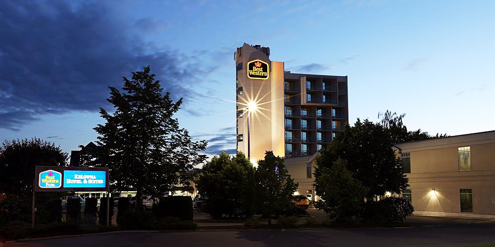 Best Western Plus Kelowna Hotel & Suites -- Kelowna, British Columbia