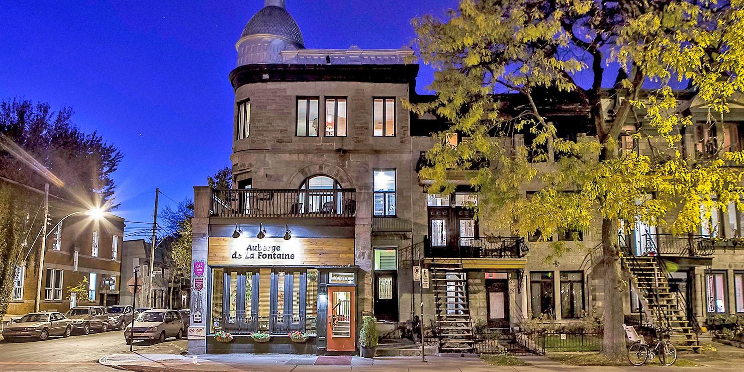 Auberge de La Fontaine -- Montreal, Quebec