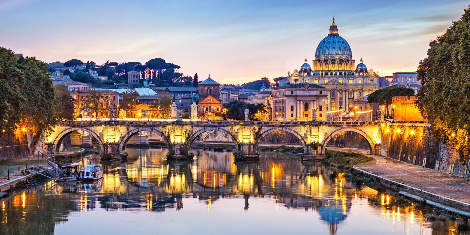 $175 – Rome: 2-night stay with views of the Basilica, 37% off -- Rome, Italy