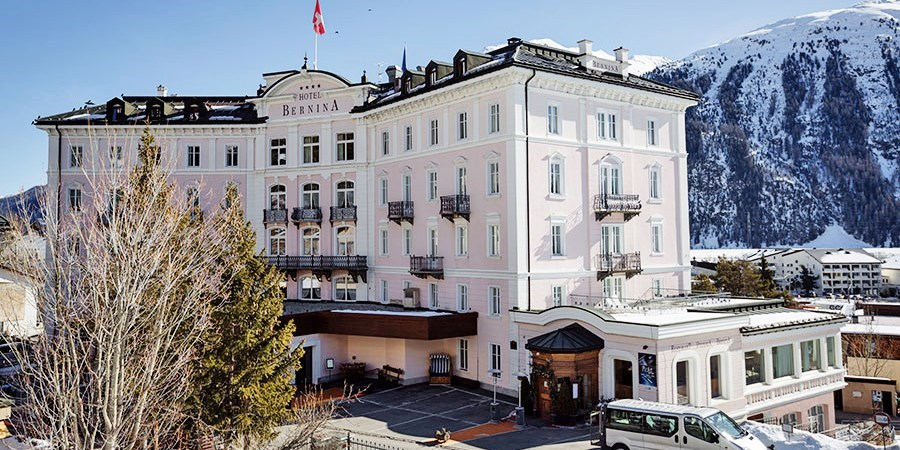 Hotel Bernina 1865 -- Samedan, Switzerland