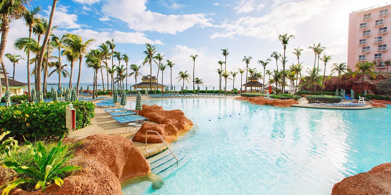 The Beach at Atlantis -- Nassau, Bahamas