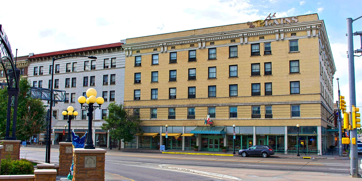 The Historic Plains Hotel -- Cheyenne, WY