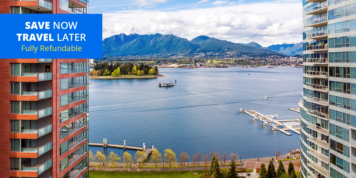 $149 & up – Harbourfront Stays w/Parking, Breakfast & Movie,up to 40% Off -- Downtown, Vancouver