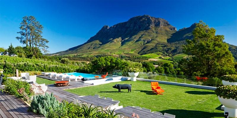 Clouds Estate -- Stellenbosch, South Africa