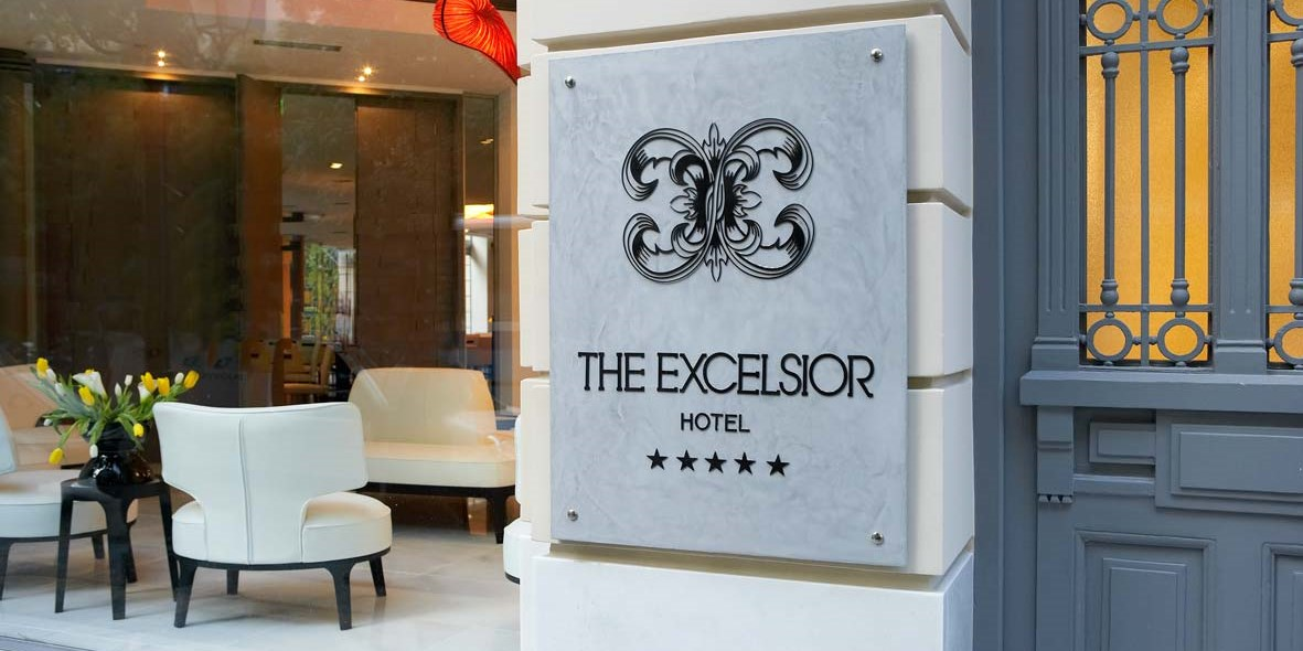 Excelsior Hotel -- Thessaloniki, Greece