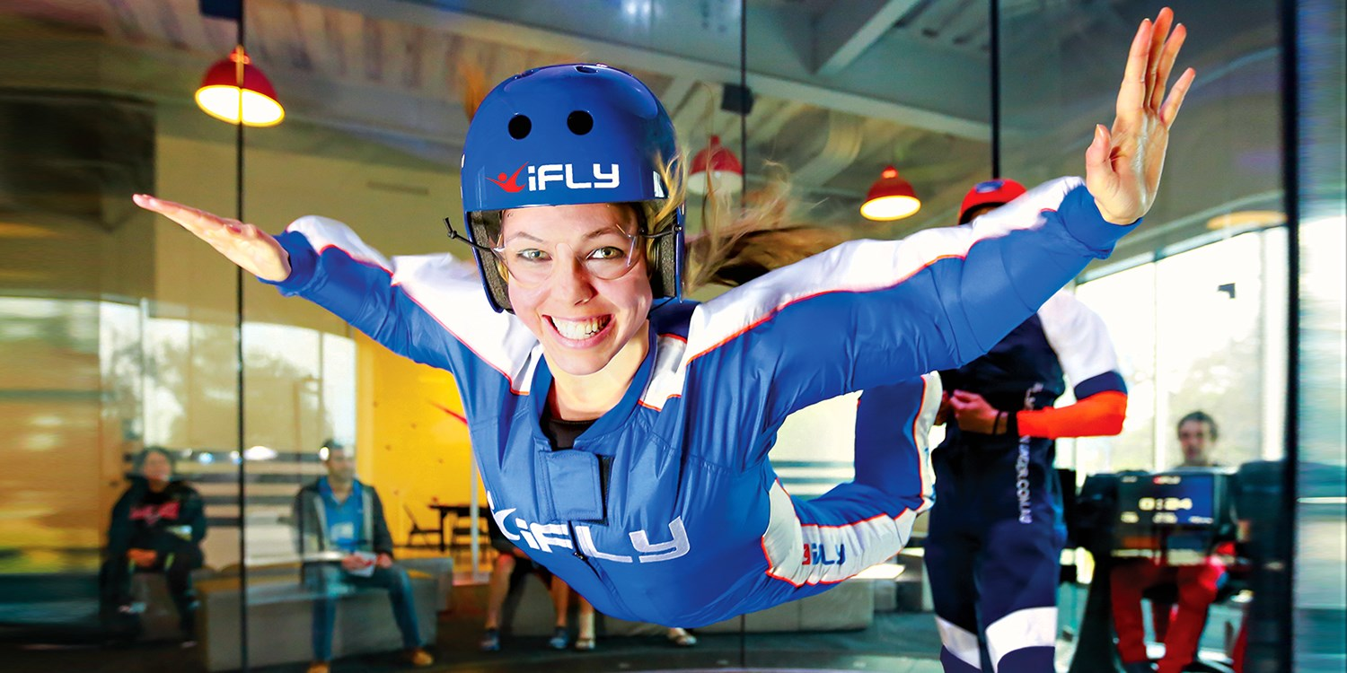 $55 -- iFLY: Indoor Skydiving w/Video for 1, Reg. $87.90