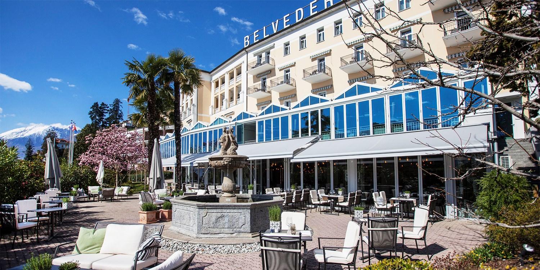 Hotel Belvedere Locarno -- Kanton Tessin, Schweiz