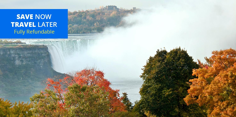 £43 – Niagara Falls Stays w/Drinks &Extras, Reg. £91 -- Niagara Falls, Canada