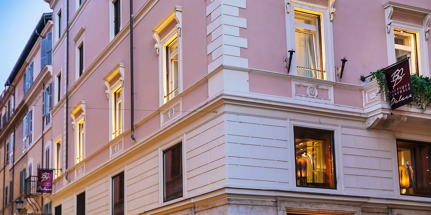 Boutique Centrale Palace -- Rome, Italy
