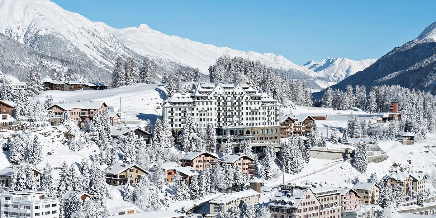 Carlton Hotel St Moritz -- St. Moritz, Schweiz
