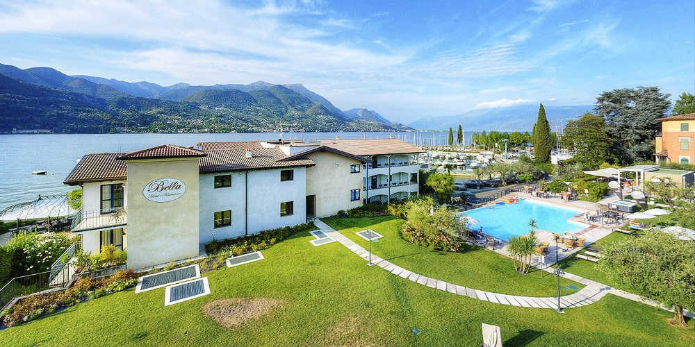 Bella hotel & Restaurant -- San Felice del Benaco, Italien