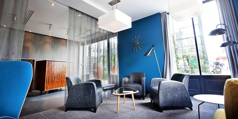 Platine Hotel -- Paris, Frankreich