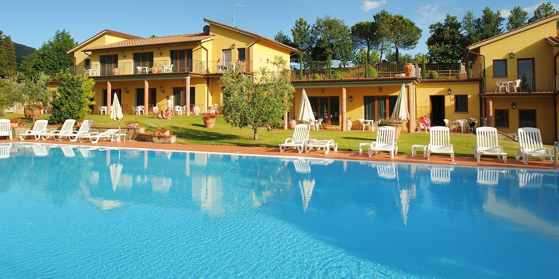 Hotel Fattoria degli Usignoli -- Toskana, Italien