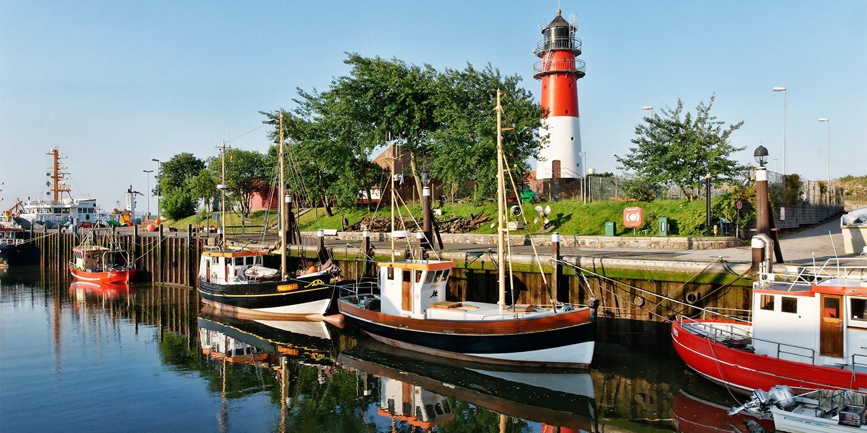 Hotel Hafen Büsum -- Schleswig-Holstein, Germany